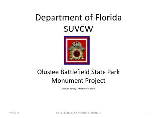 Department of Florida SUVCW