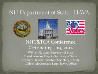 NH Department of State - HAVA