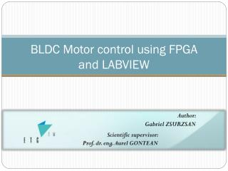 BLDC Motor control using FPGA and LABVIEW