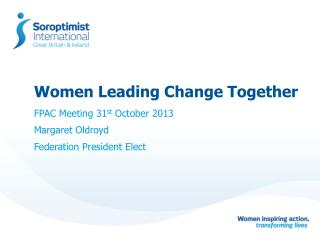 Women Leading Change Together
