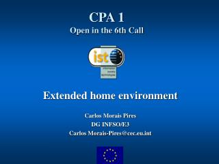 CPA 1 Open in the 6th Call