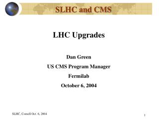 SLHC and CMS