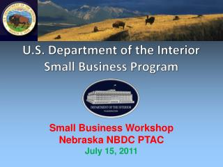 U.S. Department of the Interior Small Business Program