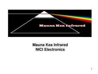 Mauna Kea Infrared NICI Electronics