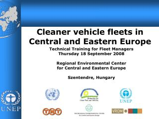 Cleaner vehicle fleets in Central and Eastern Europe