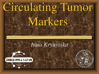 Circulating  Tumor  M arkers