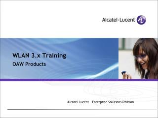 WLAN 3.x Training OAW Products