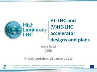 HL-LHC and  (V)HE-LHC  accelerator designs and plans