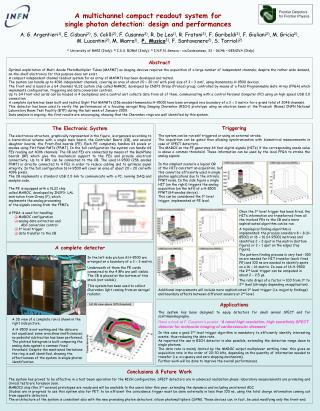 A multichannel compact readout system for single photon detection: design and performances