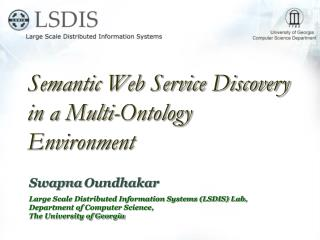 Semantic Web Service Discovery in a Multi-Ontology Environment
