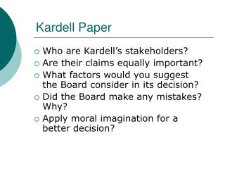 Kardell Paper