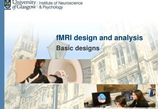 fMRI design and analysis