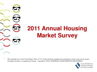 2011 Annual Housing Market Survey