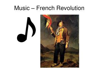 Music – French Revolution
