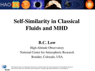 Self-Similarity in Classical Fluids and MHD