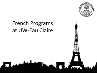 French Programs  at UW-Eau Claire
