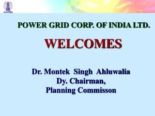 Dr. Montek Singh Ahluwalia Dy. Chairman, Planning Commisson