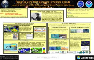 Requirement:   Ecosystems and Climate Forecasting ecosystems events for ecosystem management