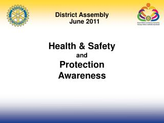 Health & Safety and Protection Awareness