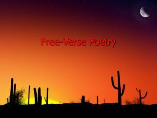 Free-Verse Poetry