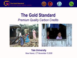 The Gold Standard Premium Quality Carbon Credits
