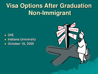 Visa Options After Graduation  Non-Immigrant