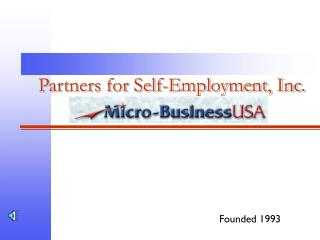 Partners for Self-Employment, Inc.