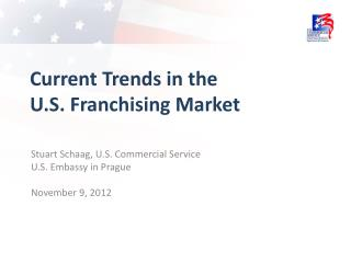Current Trends in the U.S. Franchising Market