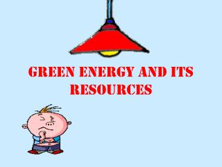 Green energy and its resources