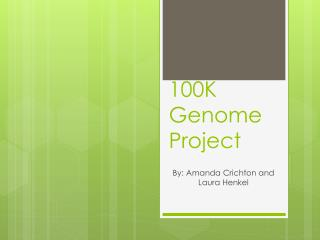 100K Genome Project