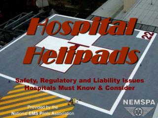 Hospital  Helipads