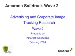 Amárach Safetrack Wave 2