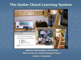 The Guitar Chord Learning System