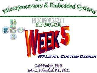 DIGITAL II Microprocessors & Embedded Systems