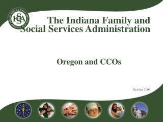 Oregon and CCOs