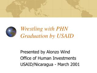 Wrestling with PHN Graduation by USAID