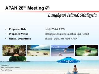 APAN 28th Meeting