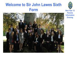 Welcome to Sir John Lawes Sixth Form
