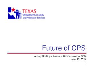 Future of CPS