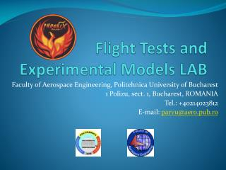 Flight Tests and Experimental Models LAB