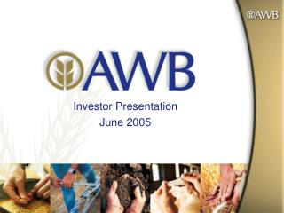 Investor Presentation June 2005