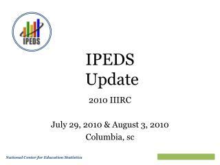 IPEDS  Update