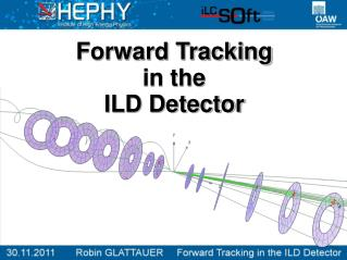 Forward Tracking  in the  ILD Detector