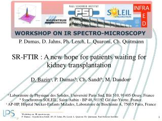 SR-FTIR : A new hope for patients waiting for kidney transplantation