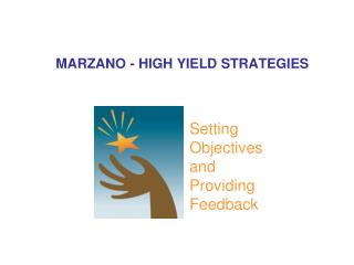 MARZANO - HIGH YIELD STRATEGIES