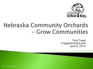 Nebraska Community Orchards - Grow Communities