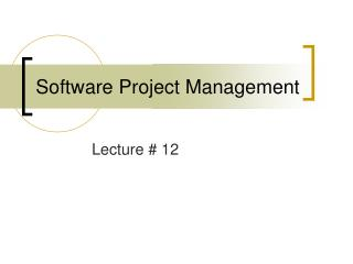Software Project Management