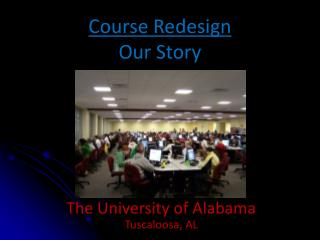Course Redesign Our Story