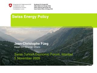 Swiss Energy Policy