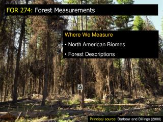 FOR 274:  Forest Measurements
